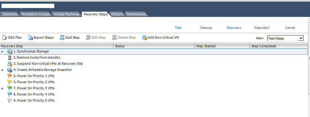 Failover using Vmware Site Replication Manager (SRM) 5 5 And Dell